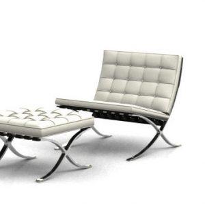 Barcelona-Chair White