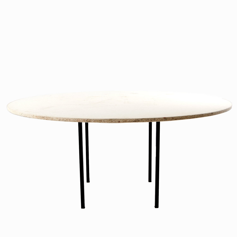 Tavolo rotondo in legno  Hippopotamus Noleggio