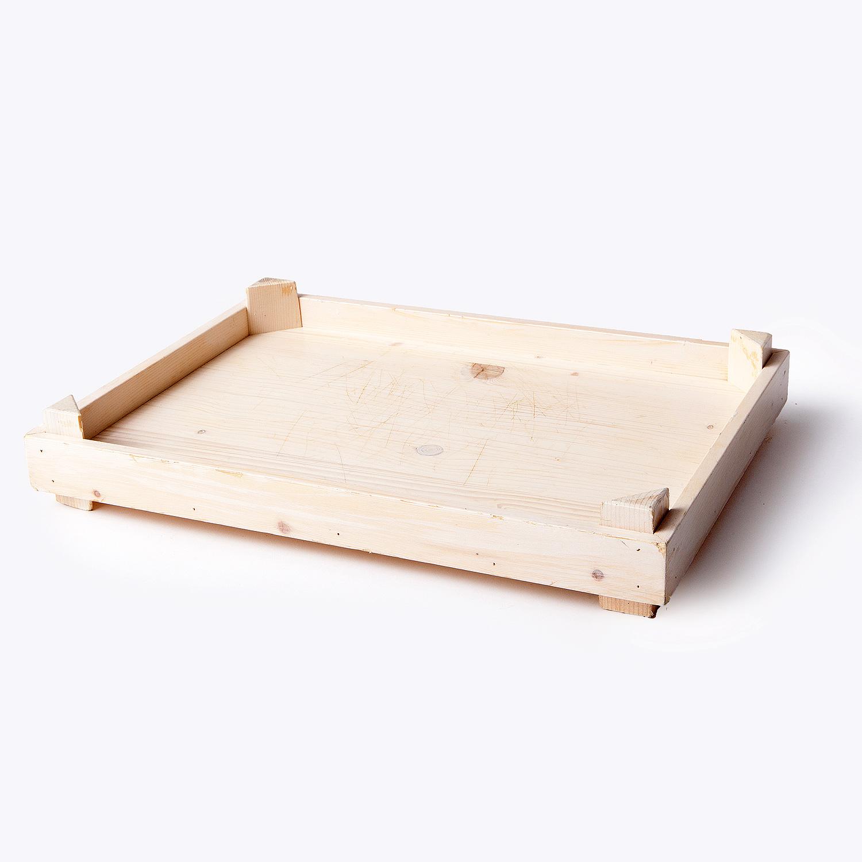cuori di legno con fioru : Un Vassoio In Legno Con Cuori Quadri Picche E Fiori Come Decorare ...