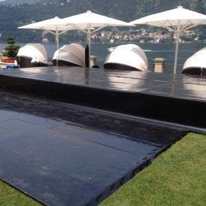 palco e pedana da ballo