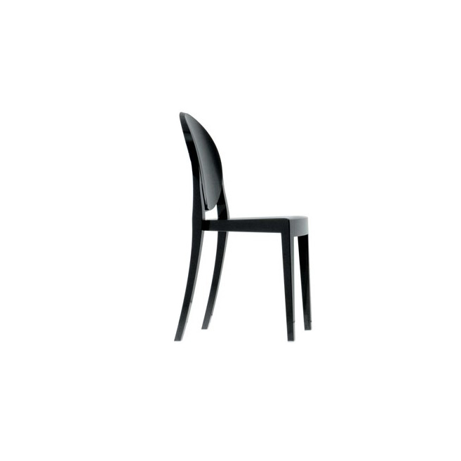 SEDIA Victoria Ghost Nera by Kartell